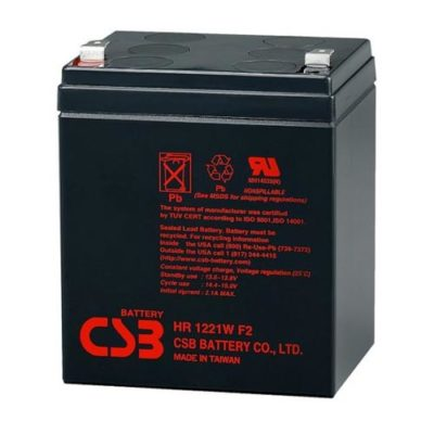 SEALED LEAD ACID BATTERY (SLA), 12V, 4.5Ah (21W)