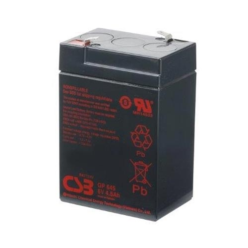SEALED LEAD ACID BATTERY (SLA), 6V, 4.5Ah