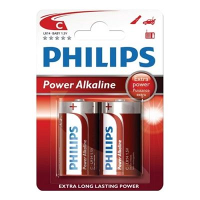 ALKALINE BATTERIES 1.5V, C
