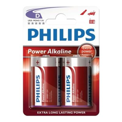 ALKALINE BATTERIES 1.5V, D