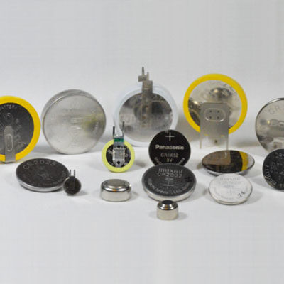 Button & Coin & Tagged Coin Cell Batteries